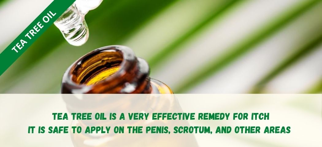 home remedy for private part itching - Tea Tree Oil