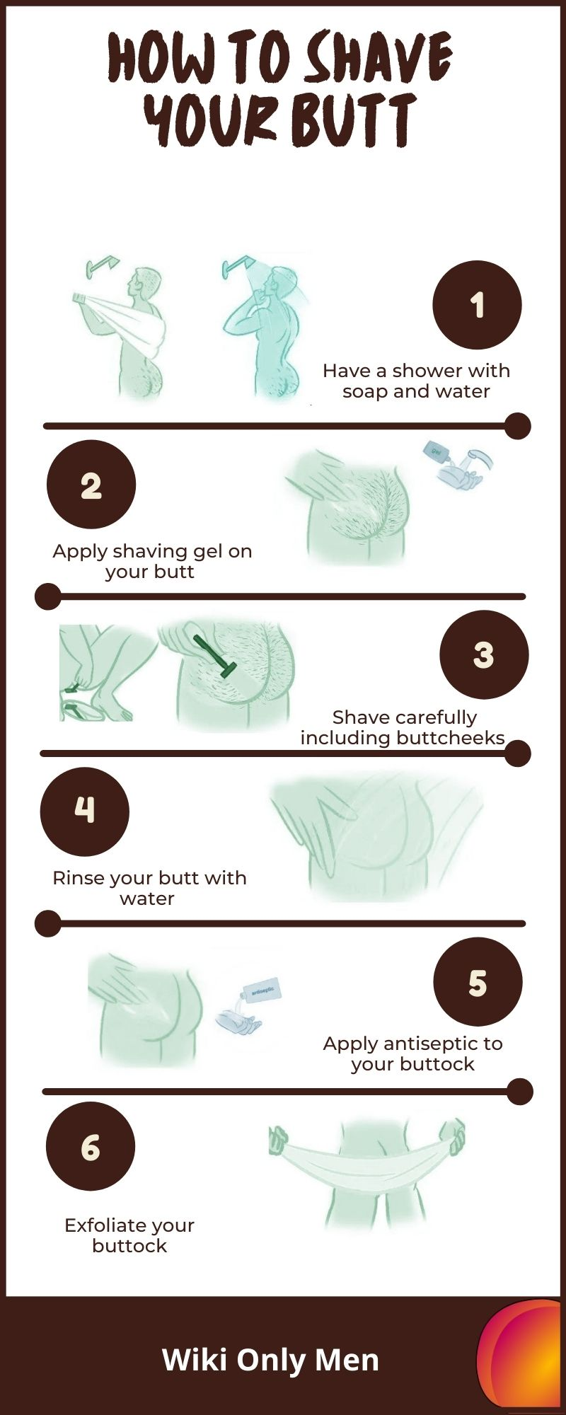 How to Shave Your Butt (Males)