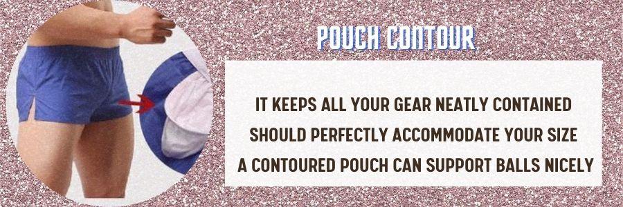 Pouch contour - in underwear