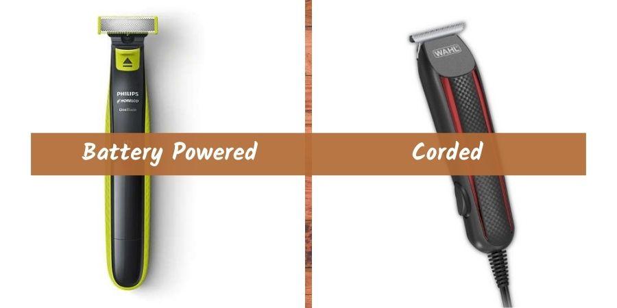 Battery Powered Vs Corded electric razor