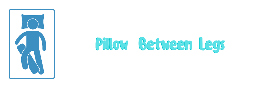 pillow between legs to keep your balls cool