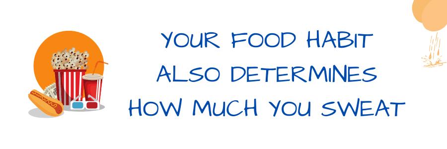 What Causes Scrotum Sweat - food